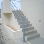 外階段-手すり(床付・壁付)10