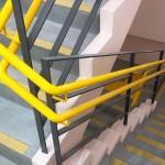 階段手すり・沖縄市介護施設